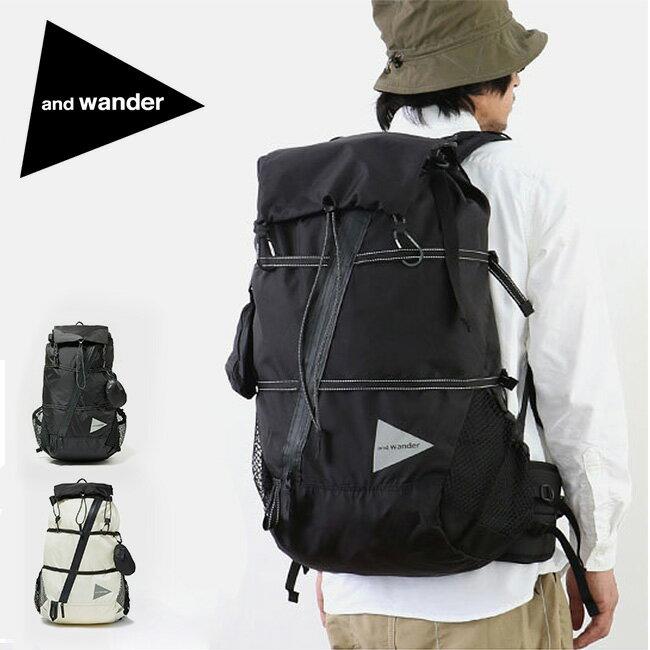 アンドワンダー 40L バックパック and wander 40L backpack バックパック リュック リュックサック ザック AW-AA911 <2019 春夏>