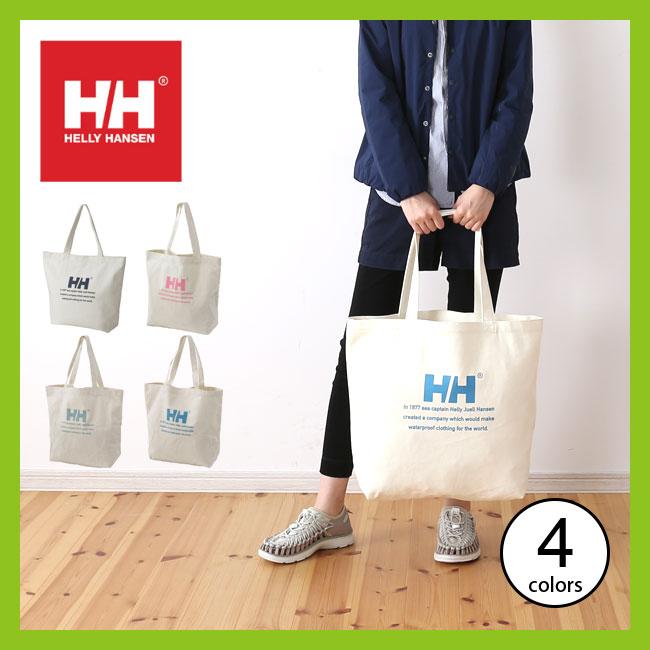 ヘリーハンセン ロゴトート L HELLY HANSEN Logo Tote L バッグ トート キャンパスバッグ <2018 春夏>