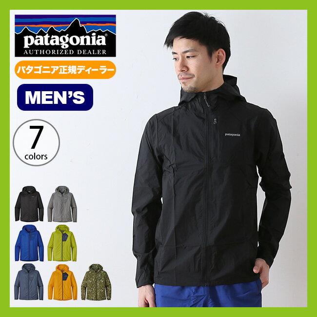 パタゴニア メンズ フーディニジャケット patagonia M's Houdini Jacket フーディニ ジャケット 軽量ジャケット ソフトシェル <2018 春夏>