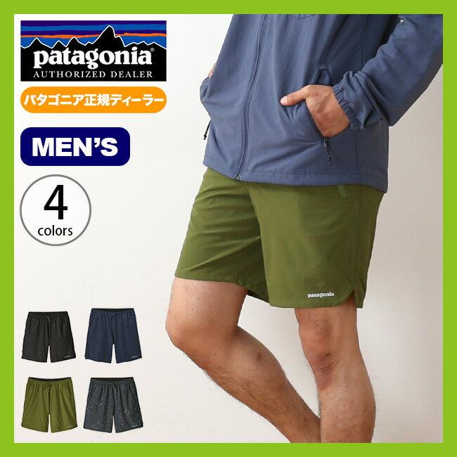 パタゴニア メンズ ナイントレイルズショーツ patagonia M's Nine Trails Shorts トレイルパンツ ショーツ ハーフパンツ 半ズボン <2018 春夏>