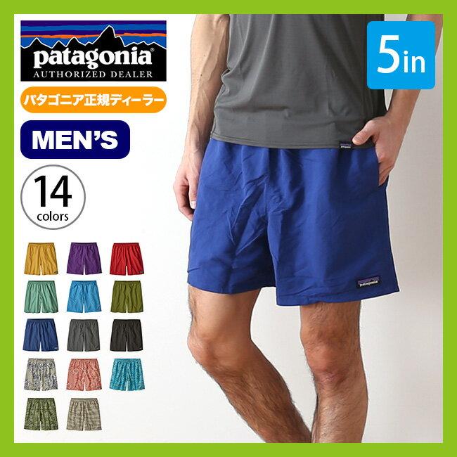 【予約販売】 パタゴニア メンズ バギーズショーツ5in patagonia M's Baggies Shorts 5in パンツ ショートパンツ ハーフパンツ 短パン <2018 春夏>