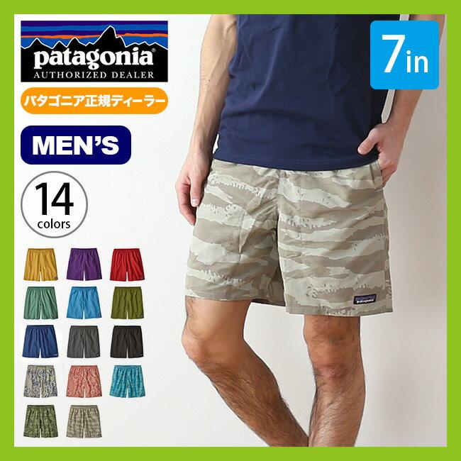 パタゴニア バギーズショーツ 7in patagonia M's Baggies Shorts 7in パンツ ショートパンツ メンズ ハーフパンツ 短パン <2018 春夏>