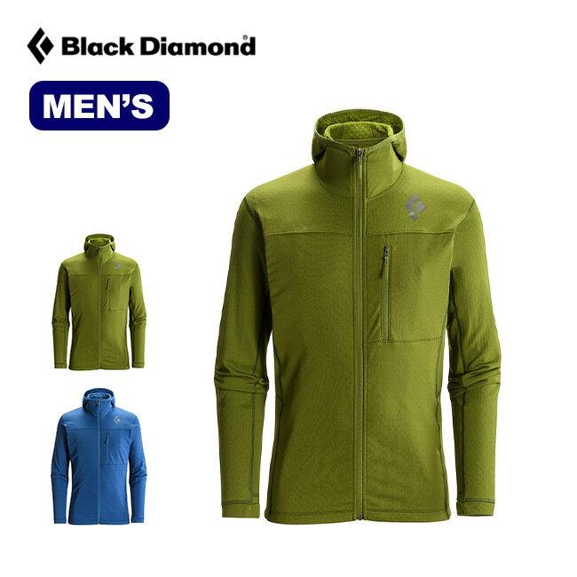 ブラックダイヤモンド メンズ コエフィシェント フーディー Black Diamond COEFFICIENT FLEECE HOODY パーカー 上着 アウター トップス ミッドレイヤー BD66261 sp17fw