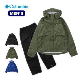 コロンビア ピクシーサンクチュアリレインスーツ Columbia Pixie Sanctuary Rainsuit メンズ トップス 長袖 ジャケット 上着 アウター レインスーツ
