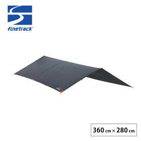 【キャッシュレス 5%還元対象】ファイントラック ゴージュタープ GY finetrack タープ テント<2019 春夏>