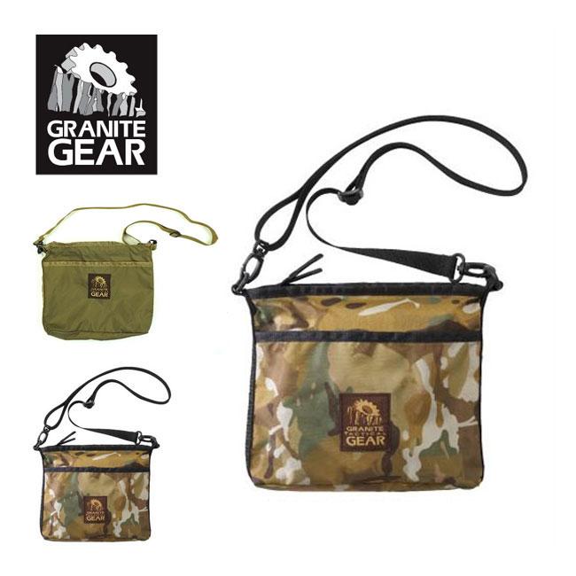 グラナイトギア タクティカル サチェル GRANITE GEAR tactical satchel ショルダーバッグ ポーチ サコッシュ <2018 春夏>
