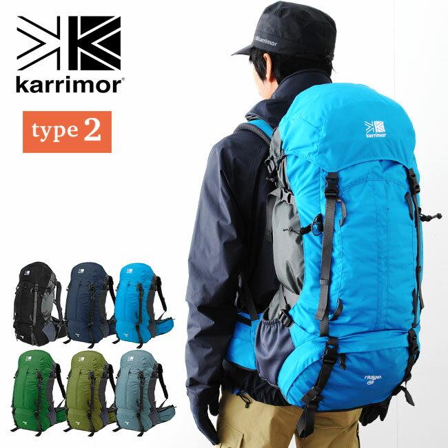 カリマー リッジ40 タイプ2 karrimor ridge 40 type2 バックパック ザック リュック リュックサック 登山リュック 40L メンズ 男性用 <2018 春夏>