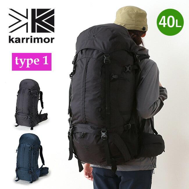 カリマー リッジ 40 タイプ1 リミテッドモデル karrimor ridge 40 type1 Limited Model レディース ウィメンズ リュックサック リュック ザック バックパック 限定 <2018 春夏>