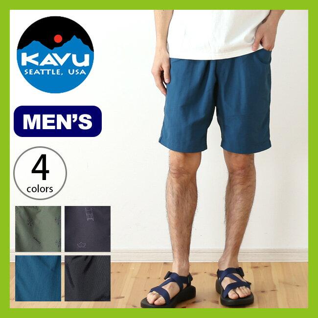 カブー ビッグエディーショーツ KAVU Big Eddy Short メンズ ショートパンツ 半ズボン パンツ ボトムス <2018 春夏>