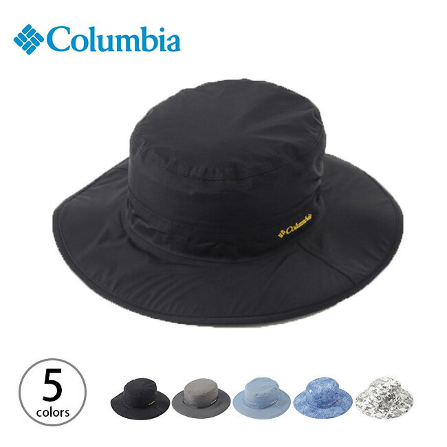 【10%OFF】コロンビア ゲッパーブーニー Columbia Geppar Booney メンズ レディース ユニセックス ゲッパー ブーニー 帽子 ハット レインハット <2018 春夏>