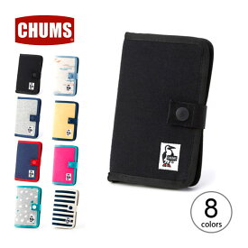チャムス ノートブックスタイルモバイルケース スウェット CHUMS Notebook Style Mobile Case Sweat スマートフォンケース スマホケース アイフォンケース <2018 春夏>