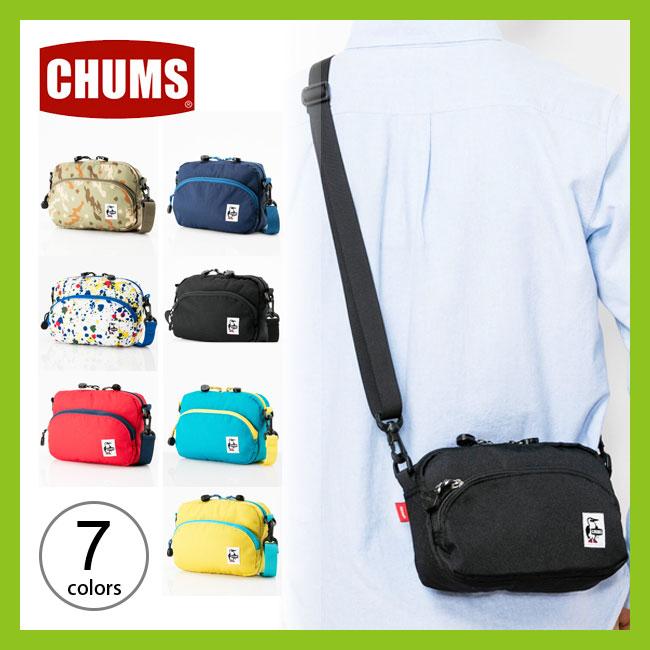 【5%OFF】チャムス エコショルダーポーチ2 CHUMS Eco Shoulder Pouch 2 ポーチ ショルダーバッグ ショルダーバッグ ポーチ スウェット   <2018 春夏>