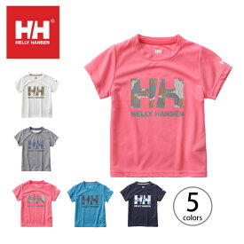 ヘリーハンセン キッズ S/S ロゴTee HELLY HANSEN Kids S/S Logo Tee キッズウェア <2018 春夏>