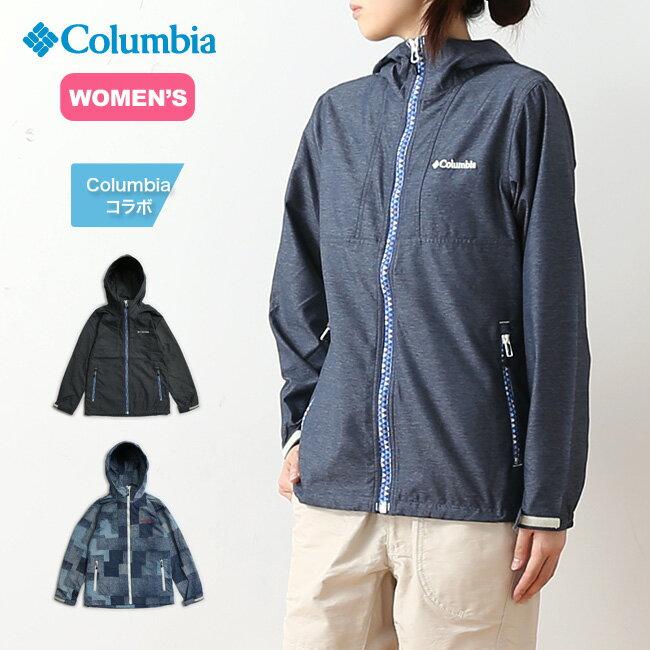 コロンビア ヘイゼン【ウィメンズ】パターンドジャケット Columbia Hazen Women's Patterned Jacket レディース ジャケット パーカ アウター 上着 <2018 春夏>