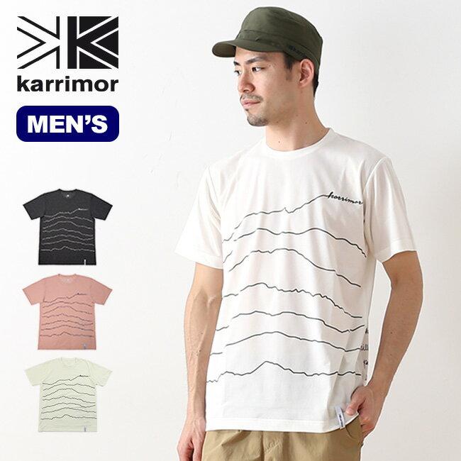 カリマー リッジラインT karrimor ridgelineT メンズ Tシャツ ショートスリーブ 半袖 プリントT <2018 春夏>