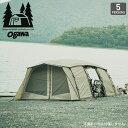 オガワ アポロン OGAWA Apollon テント キャンプ アウトドア 宿泊 5人用 グループキャンプ 大型