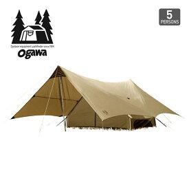 オガワ トリアングロ OGAWA Trianglo テント キャンプ アウトドア 宿泊 大型 5人用 【正規品】