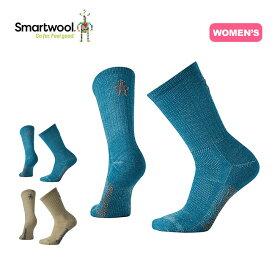 【キャッシュレス 5%還元対象】スマートウール 【ウィメンズ】ハイクウルトラライトクルー Smartwool Ws HikeUltraLightCrew レディース ソックス 靴下 ハイキング <2019 春夏>