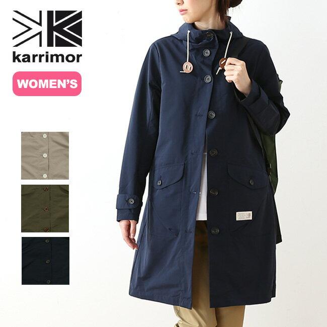 カリマー ハリントン【ウィメンズ】コート karrimor harrington W's coat レディース ハリントン コート アウター ジャケット トラベルコート