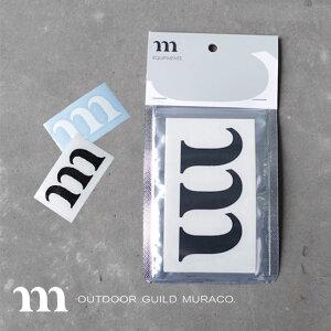 ムラコ mステッカーNEW MURACO M STICKER NEW ロゴステッカー シール ステッカー <2019 春夏>