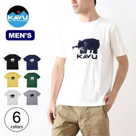 カブー ハイベアーTee KAVU Hai Bear Tee メンズ Tシャツ トップス 半袖 19820421 <2019 春夏>