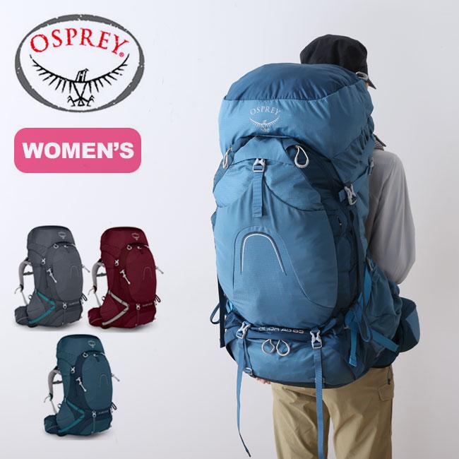 オスプレー オーラAG 65 OSPREY リュックサック バックパック ザック 女性用 レディース OS50185 <2019 春夏>