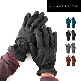 アクシーズクイン ライトシェルウォータープルーフグローブ XESQUIN AXESQUIN Light Shell WP Glove グローブ 手袋 ユニセックス メンズ レディース RG3554