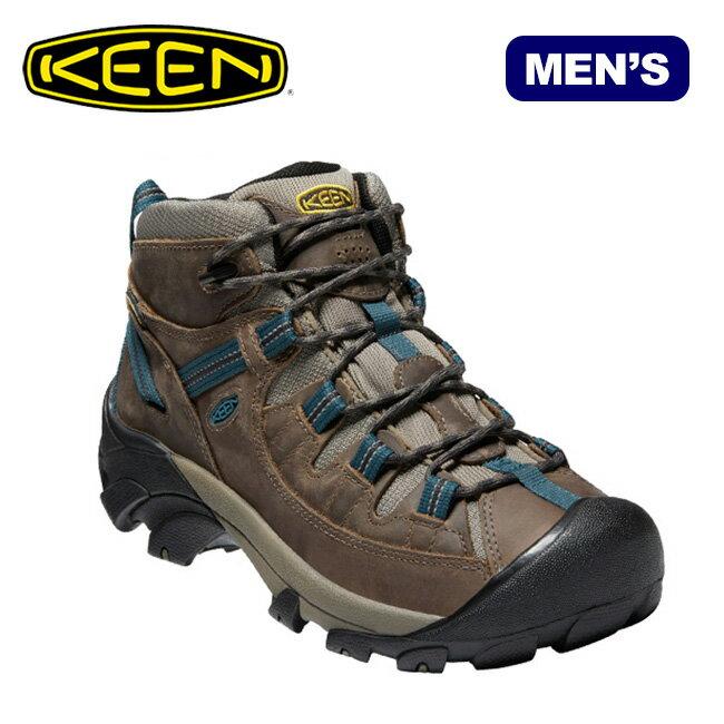 キーン ターギー2 ミッド ウォータープルーフ KEEN MEN'S TARGHEE II WATERPROOF MID メンズ 靴 シューズ ブーツ トレッキングシューズ ミドルカット ハイキング 男性用 18SS