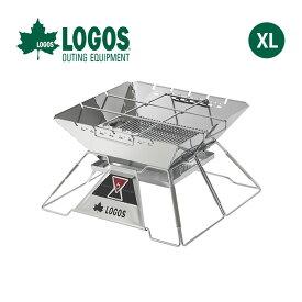 ロゴス LOGOS The ピラミッドTAKIBI XL LOGOS 焚火台 グリル 調理器具 串焼き ダッチオーブン アウトドア キャンプ バーベキュー <2019 春夏>