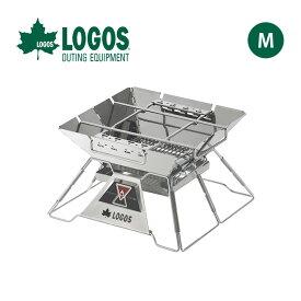 ロゴス LOGOS The ピラミッドTAKIBI M LOGOS 焚火台 グリル 調理器具 串焼き ダッチオーブン アウトドア キャンプ バーベキュー 81064163 <2019 春夏>