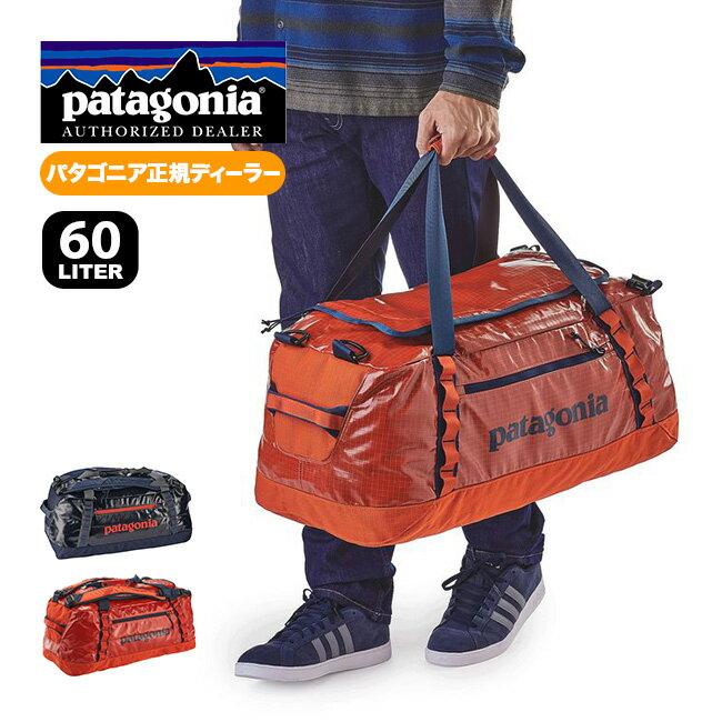 パタゴニア ブラックホールダッフル 60L Black Hole® Duffel Bag 60L バッグ ショルダー リュック ダッフル #49341