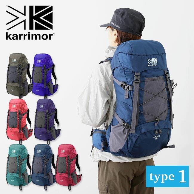 カリマー ランクス28 タイプ1 karrimor lancs 28 type1 バックパック リュック ザック レディース <2018 秋冬>