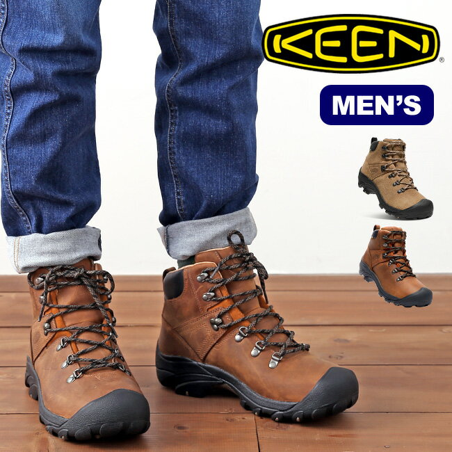 キーン ピレニーズ KEEN PYRENEES メンズ 靴 トレッキングシューズ ブーツ ミッドカット 登山靴 防水 <2019 春夏>