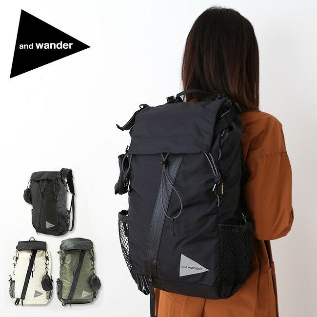 アンドワンダー 30L バックパック and wander 30L backpack バックパック リュック リュックサック ザック AW-AA912 <2019 春夏>