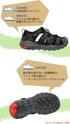 キーンニューポートネオH2ユースKEENNEWPORTNEOH2子供用ジュニアキッズサンダルシューズ靴ズックスポーツサンダルコンフォート水陸両用<2018春夏>