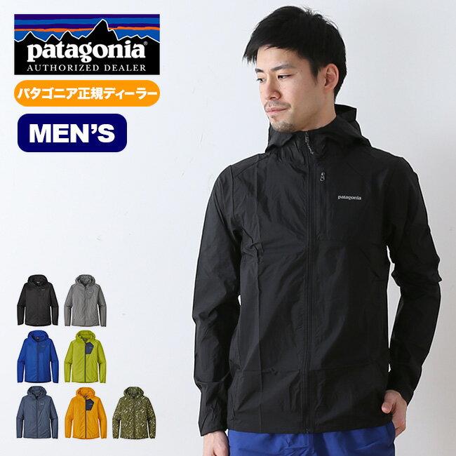 [10月限定] パタゴニア メンズ フーディニジャケット patagonia M's Houdini Jacket フーディニ ジャケット 軽量ジャケット ソフトシェル <2018 春夏>