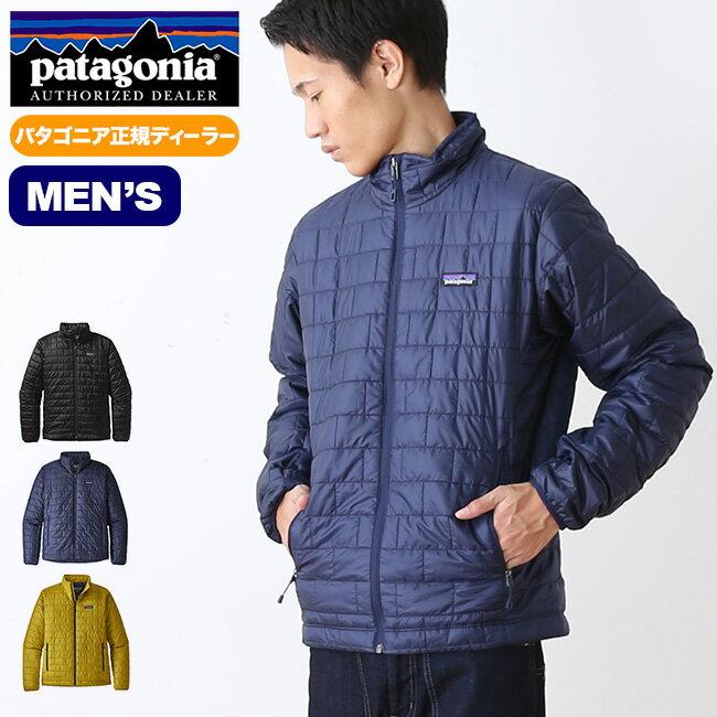 パタゴニア メンズ ナノパフジャケット patagonia M's Nano Puff® Jacket ジャケット アウター ミッドレイヤー <2018 秋冬>