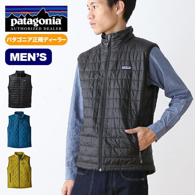 パタゴニア メンズ ナノパフベスト patagonia M's Nano Puff® Vest ベスト ミッドレイヤー アウター <2018 秋冬>