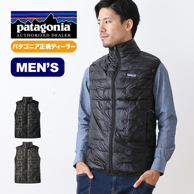 パタゴニア メンズ マイクロパフベスト patagonia M's Micro Puff Vest トップス アウター ベスト インサレーション 男性 <2018 秋冬>