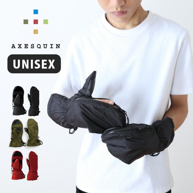 アクシーズクイン フィンガースルーミトン オリジナル AXESQUIN 手袋 グローブ ミトン アウトドア オーバーグローブ <2018 秋冬>