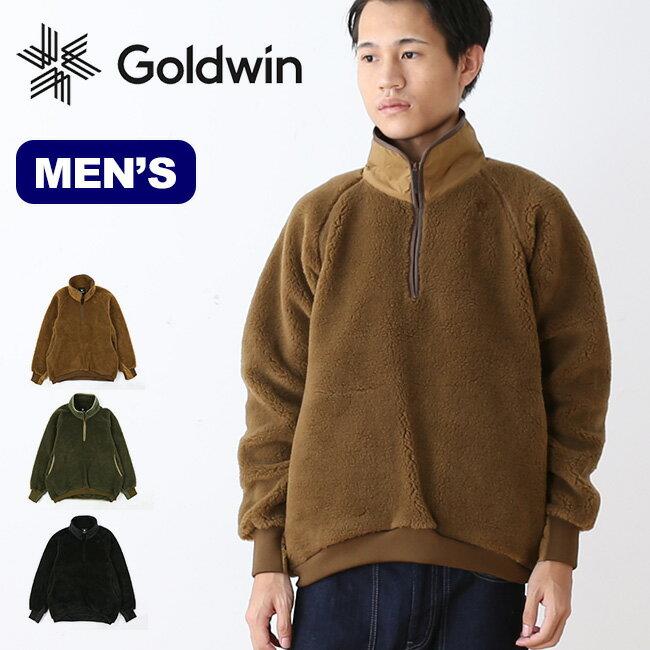 ゴールドウィン スタンドカラーフリース GOLDWIN STAND COLLAR FLEECEトップス アウター 男性 <2018 春夏>
