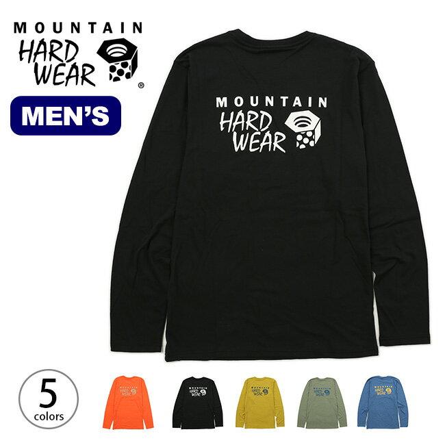 MHW ロゴグラフィックロングスリーブT Mountain Hardwear MHW Logo Graphic Long-Sleeve T メンズ ロングT カットソー トップス <2018 秋冬>