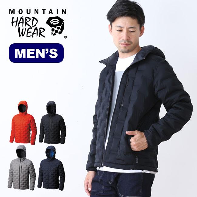 マウンテンハードウェア ストレッチダウンDSフーデッドジャケット Mountain Hardwear Stretch down DS Hooded jacket アウター メンズ ダウン <2018 秋冬>