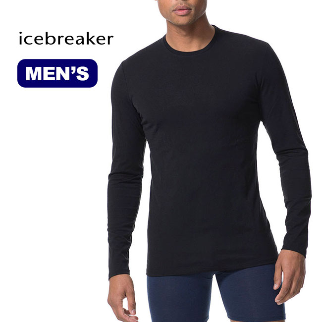 アイスブレーカー M アナトミカLSクルー Icebreaker M ANATOMICA LS CREWE メンズ ロングスリーブ 長袖 アンダーウエア <2018 秋冬>