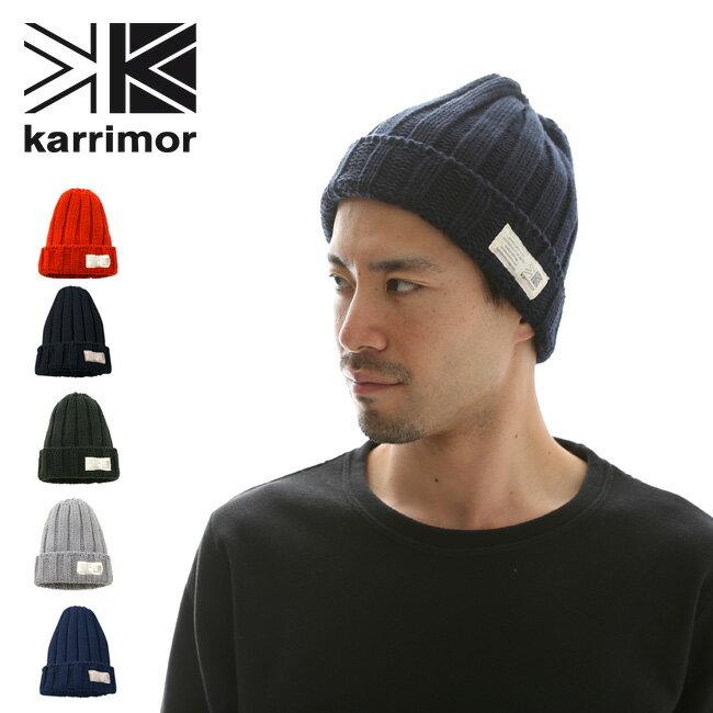 カリマー フォールテッドビーニー【+d】karrimor folded beanie ニット帽 ニット メンズ レディース <2018 秋冬>