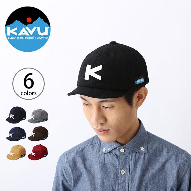 カブー ベースボールキャップ ウール 【送料無料】 KAVU Base Ball Cap (Wool) 帽子 キャップ デイユース タウンユース アウトドア ウール メンズ レディース フリーサイズ 野球帽