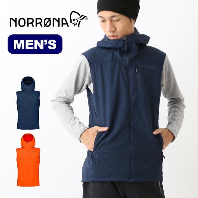ノローナ リンゲン アルファ90ベスト メンズ Norrona lyngen alpha90 Vest アウター メンズ インサレーション 2036-18 <2018 秋冬>