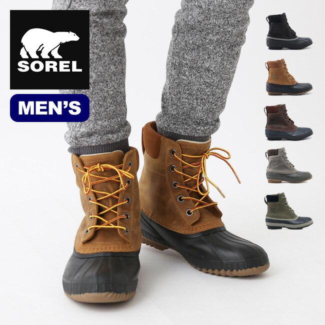 ソレル シャイアン2 メンズ SOREL Cheyanne II ブーツ ショートブーツ ハイカット 靴 スノーブーツ 男性 <2018 秋冬>