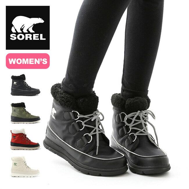 ソレル ソレルエクスプローラーカーニバル【ウィメンズ】 SOREL Sorel Explorer Carnival 靴 ブーツ ショートブーツ <2018 秋冬>