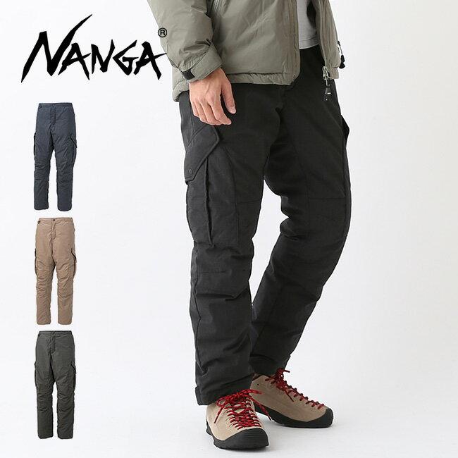 ナンガ タキビダウンパンツ NANGA TAKIBI DOWN PANTS ダウン パンツ カーゴパンツ ボトムス メンズ <2018 秋冬>